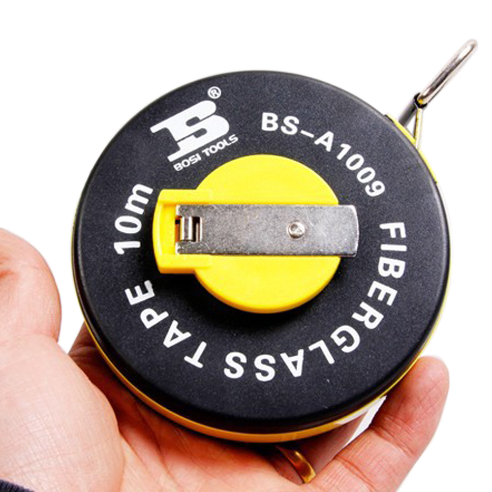 BOSI 10m FIBERGLASS měřicí páska, měřicí - Sady nástrojů - Fotografie 2