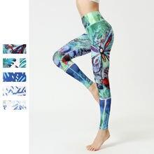 Новинка 2020 леггинсы для фитнеса и йоги с принтом женские сексуальные