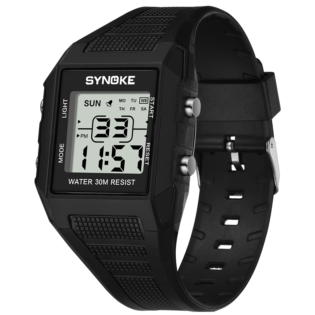 PANARS Kid's Watch Boys Watch Digital 30M Waterproof Alarm Weekly Alert Display Silicone Band Wrist Watch Child Birthday Present
