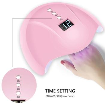 Nail Dryer UV Lamp For Manicure LED Nail Dryer Lamp Sun Light Curing All Gel  Lamp For Manicure Gel Nail Lamp Drying Lamp