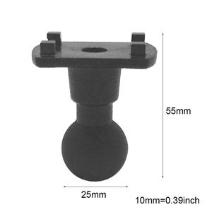 Image 2 - 4 חור טפרי אמפר מתאם צלחת גומי כדור ראש הר Bracket עבור Ipm tab1 חזק הר סדרת Ram Mounts לgopro garmin GPS DVR