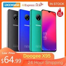 DOOGEE X95 cep telefonu Android 10.0 2GB 16GB 5MP 13MP kamera 6.52