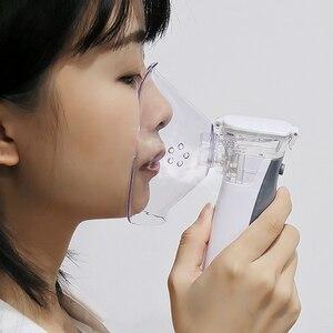 Image 2 - BGMMED Handheld Medical Nebulizer equipment Asthma Portable inhaler Atomizer inhalator for kids mini nebulizador