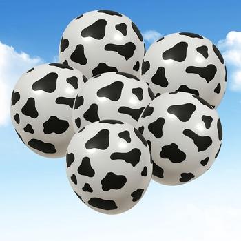 10 sztuk czarne białe lateksowe zwierzęta kreskówkowe nadruk z krową balonami na temat farmy dekoracje na imprezę urodzinową przybory dla niemowląt tanie i dobre opinie DesertCreations CN (pochodzenie) ROUND Na Dzień Matki Ślub CHRISTMAS Ślub i Zaręczyny Na Dzień Dziecka Wielkie wydarzenie