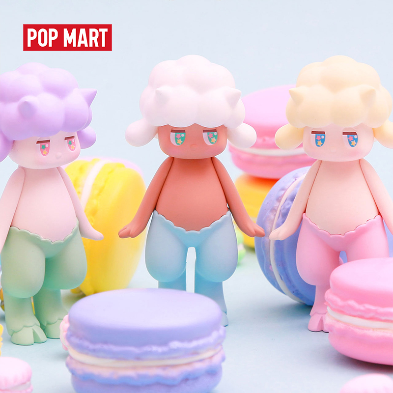 POPMART Satyr Rory basic series Toys figure Action Figure Birthday Gift Kid Toy free shipping(China)