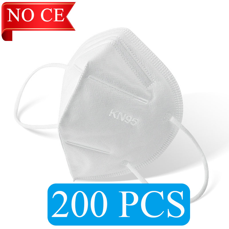 NO CE White 200 PCS