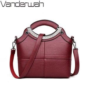 Image 1 - Bolso de mano con Concha a la moda para mujer, marcas famosas, de cuero, bandolera cruzada