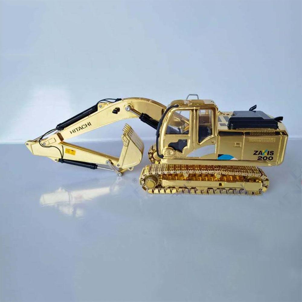 1:40 Truck Excavator Model HITACHI ZAXIS200-5 ZX200-5A Excavator Tyrant Golden Engineering Model Engineering Car Collectibles