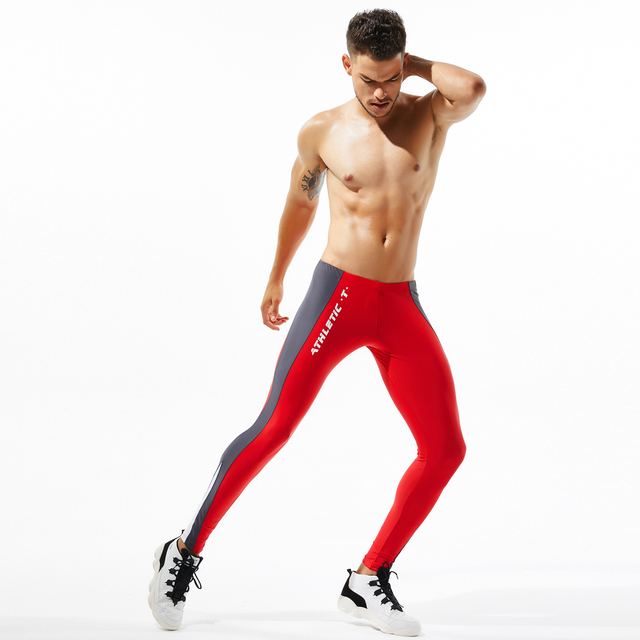 Tights Man's Stretch Workout Fitness Long Leggings Compress Fitness Long Johns Quick Drying Sexy Casual lounge Home and Out Door 6