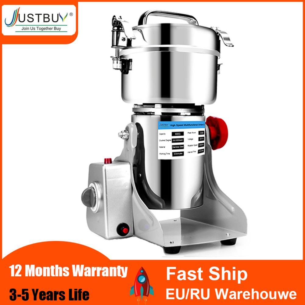 24 Months Warranty 700G/2500G Herb grinder Medicine powder crusher mill medicine grinding machine food grinder spices grains