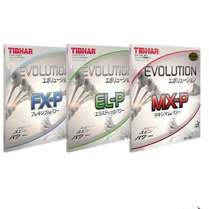 TIBHAR EVOLUTION ELP MXP FXP Table Tennis (PingPong) Rubber Pips-in Ping Pong Sponge