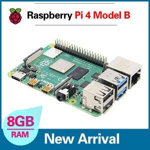 Support-Poe WIFI Raspberry-Pi Bluetooth 4-Model 4B Dual-Band 8GB with BCM2711 Cortex-A72