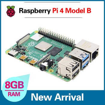 Newest Raspberry Pi 4 Model 4B 8GB BCM2711 Quad-core Cortex-A72 1.5GHz 1GB/2GB/4GB RAM With Dual Band WIFI Bluetooth Support PoE