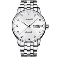 Qualität XINQITE Uhren Männer Top Luxus Marke Automatische Mechanische Uhr Sapphire Wasserdichte Uhren Voller Stahl Männlichen Armbanduhren Mechanische Uhren    -