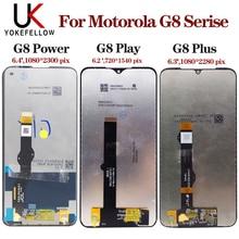 Para Motorola Moto G8 Play XT2015 XT2015, pantalla LCD de ensamblaje de digitalizador de pantalla táctil para Motorola Moto G8 Plus G8 Power