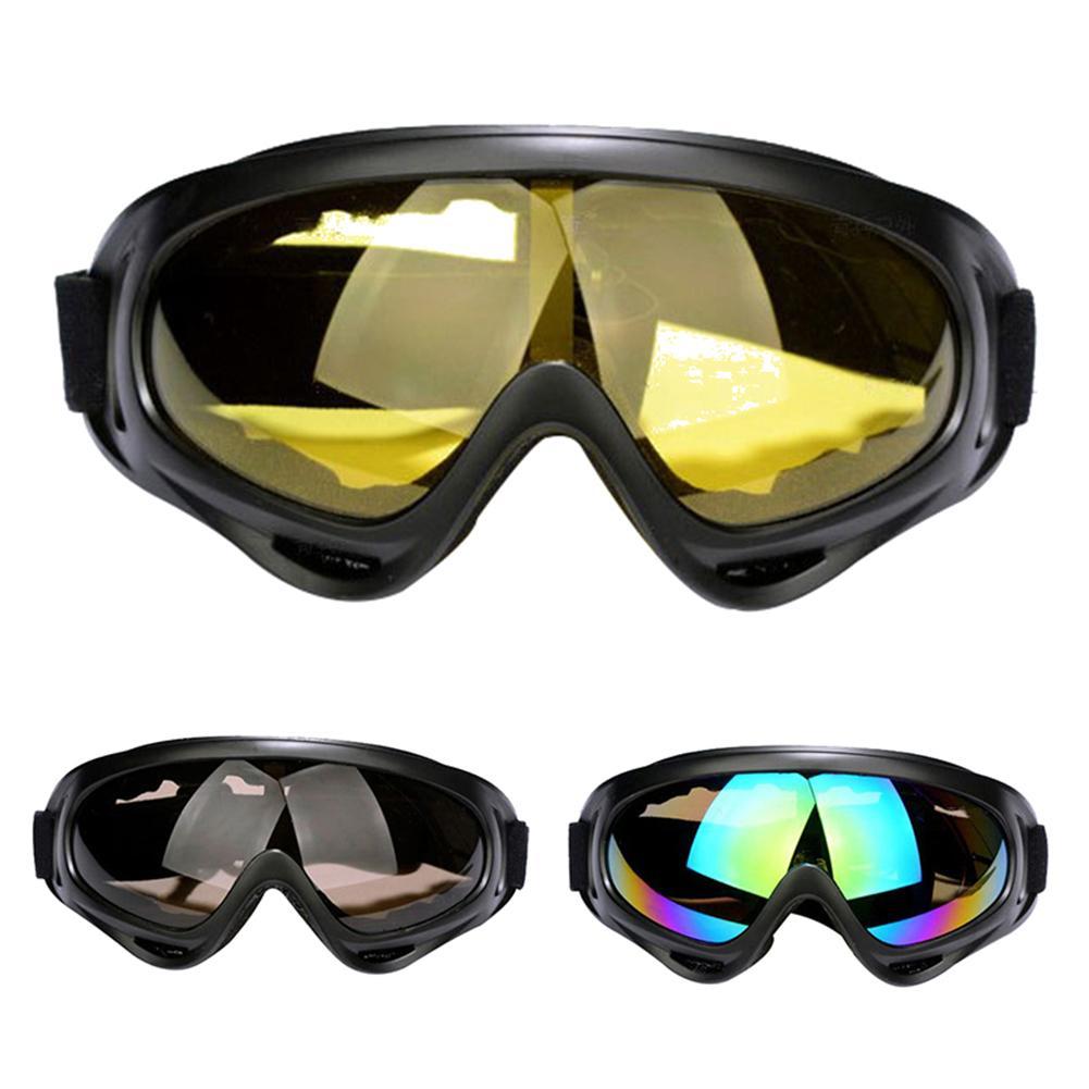2 шт. зимние уличные Лыжные Сноуборд мотоциклетные ветрозащитные очки велосипедные аксессуары|Очки для велоспорта|   | АлиЭкспресс