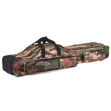 Reel-Bag Fishing-Rod Portable Case Blusea 3-Layer Folding Travel 120cm/150cm