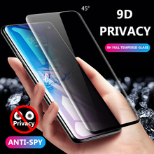 Full Cover Anti Glare Film For Samsung Galaxy Note 10 Pro S10 5G S10 Plus Privacy Tempered Glass Note 9 S9 S8 Screen Protection