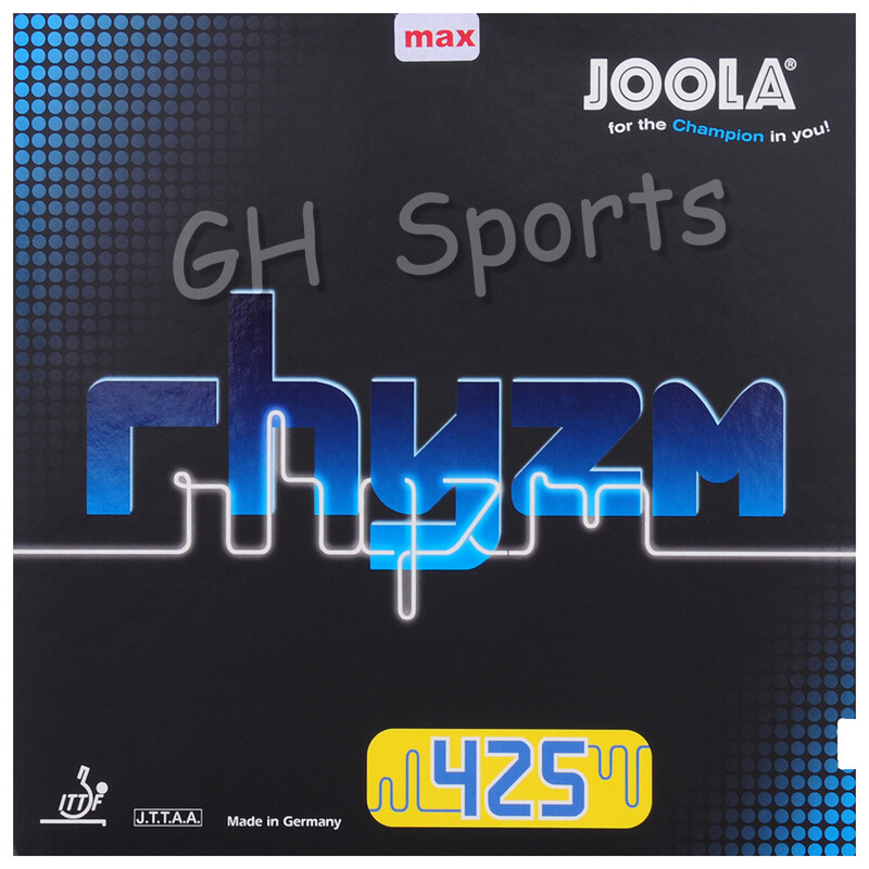 Joola RHYZM 425 (RHYZM Soft 42.5, Speed & Spin) Pimples In Table Tennis Rubber Ping Pong Sponge Tenis De Mesa