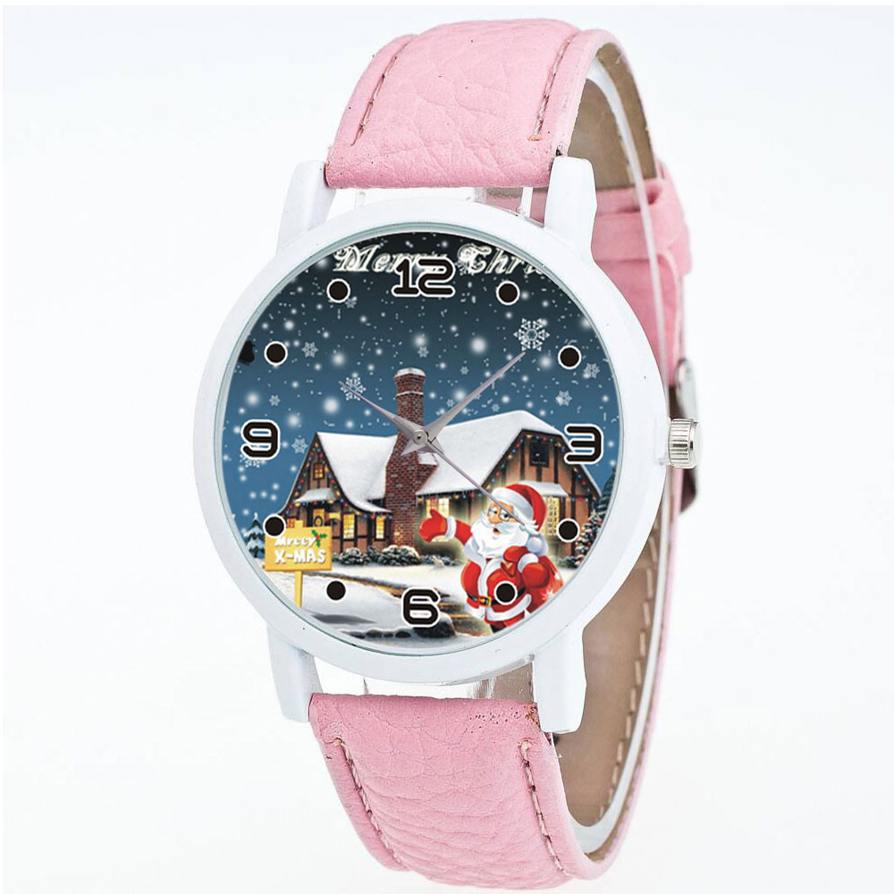 Zerotime #H501 Wristwatches Christmas Watch Fashion Casual Quartz Watch Deluxe Belt Analog Watch Casual Gifts Часы Free Shipping