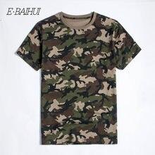E baihui Новые Модные Мужская одежда из хлопка камуфляжной расцветки
