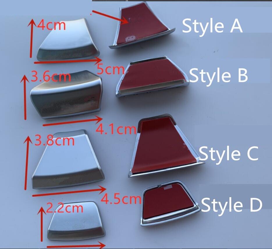 20x ABSSteering jant amblemleri çıkartmaları iç rozetleri Mercedes Benz AMG GLA/A/C/B/GLE e300L C200 E260 E300L
