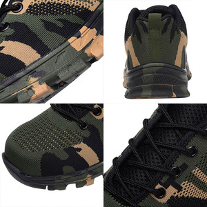 Image 5 - MWSC Men Work Safety Shoes Working Shoes for Men Safety Boots Camouflage Indestructible Shoes Unisex Steel Toe Boots Sneakers