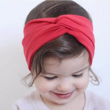 2019 platform explosion models sweet candy color hair accessories children bow knot retro baby cute headband scrunchie ободок50*(China)