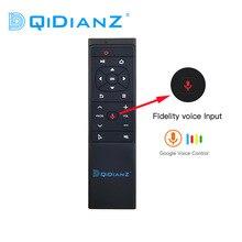 Mt12 voz controle remoto mouse ar 2.4g ir sem fio aprendizagem com giroscópio para pc antriod caixa de tv x88 h96 tx6 hk1 pk g10 g20