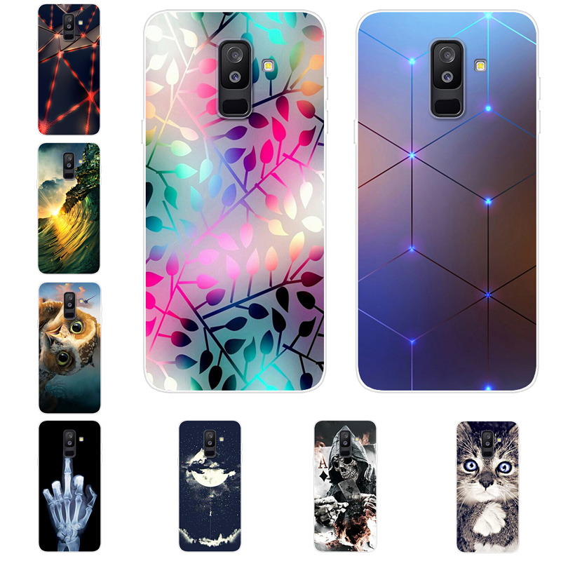 For Samsung A3 A5 A7 2017 Case Silicone Clear Bumper Phone Cover For Samsung Galaxy A9 A7 A8 A8 plus A6 A6 Plus 2018 A6plus Case image