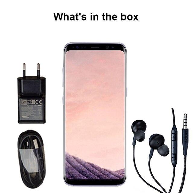 "Unlocked Samsung Galaxy S8 Plus S8+ Snapdragon 835 Mobile Phone 6.2"" 64GB ROM Octa Core Fingerprint 4G LTE Android Smartphone"