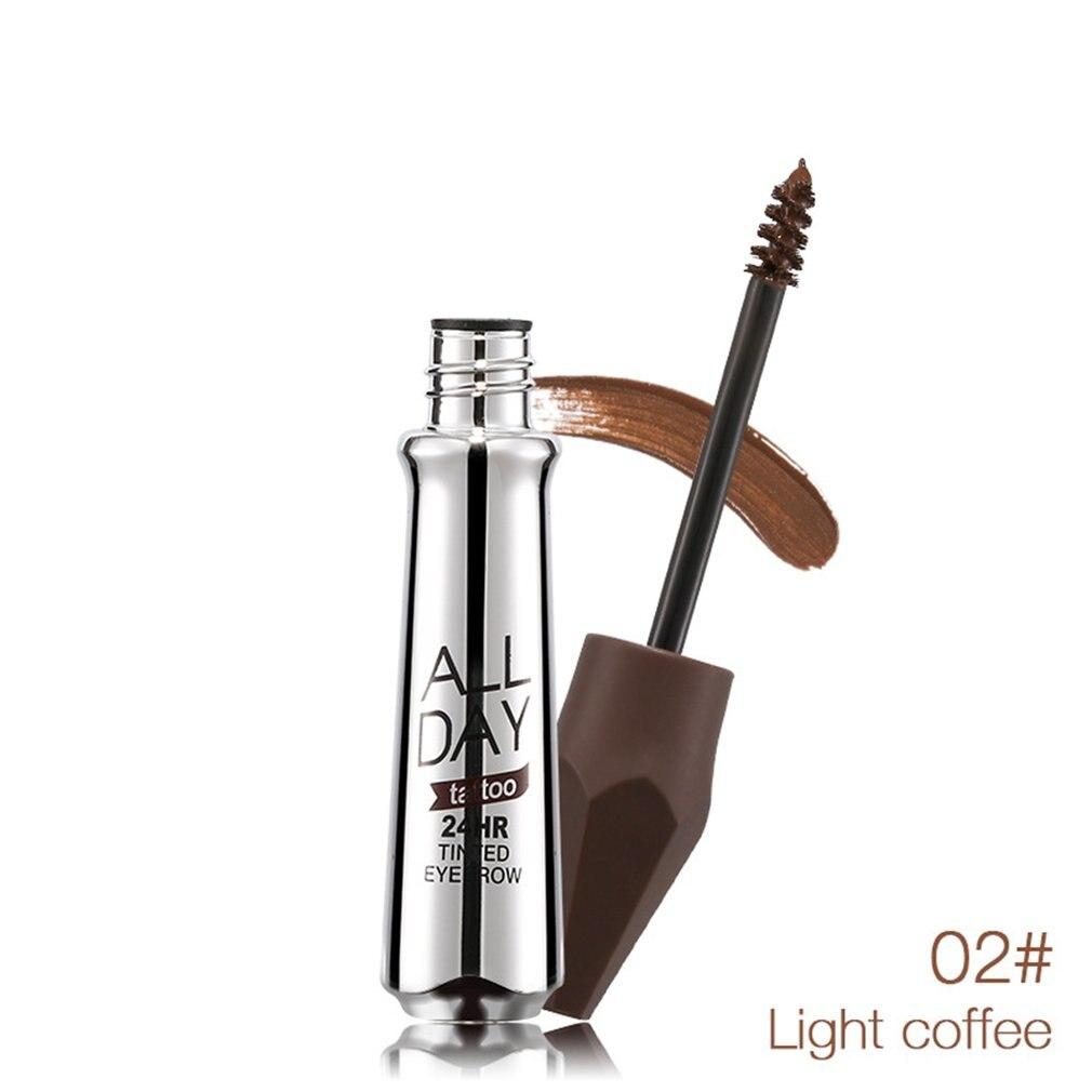Music Flower Portable Size Natural Eyebrow Gel Waterproof Long Lasting Eyebrow Cream Make Up Paint Set Eyebrow Enhancer