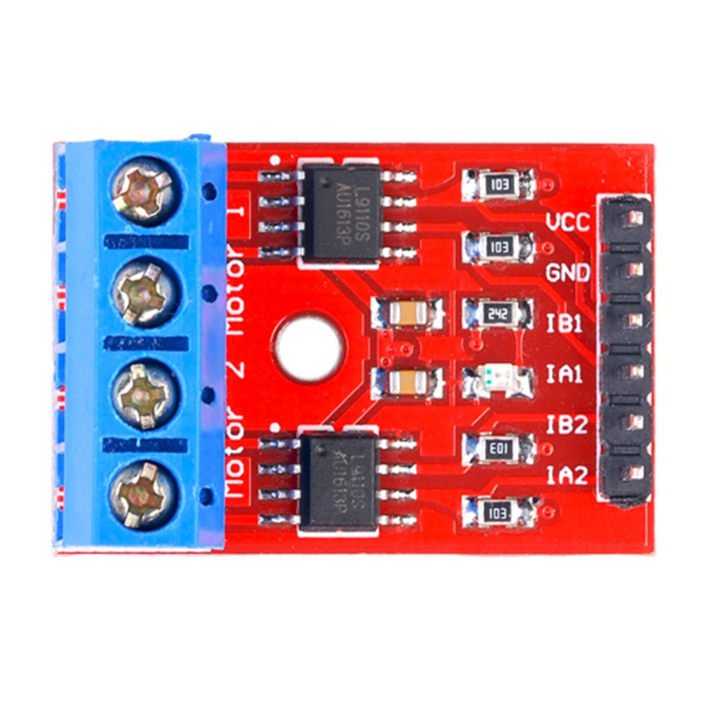 Two-Way Motor Drive Board H-Bridge Compatible With L9110 Stepper Motor Drive Board Motor Drive Module