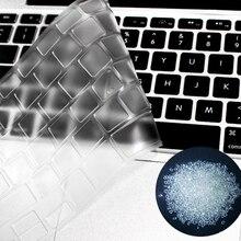 1 шт. Тонкий прозрачный TPU клавиатура чехол кожа протектор для Macbook Pro 13 15 17 Retina для Macbook Air 13