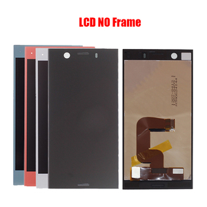 Image 2 - For Sony Xperia XZ1 Compact G8441 D5503 SO 02K LCD screen assembly touch glass,With repair parts LCD Display Black Blue Silver