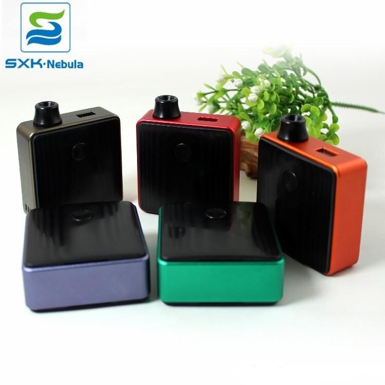 SXK Bantam boîte Mod Kit de démarrage Cigarette électronique 30W 5ml Pod AIO MTL RTA atomiseur Fit 18350 batterie vapotage Vaper Vape dispositif