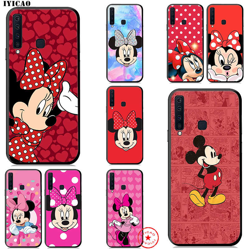 IYICAO Minnie Mouse Soft Case for Samsung Galaxy A50 A70 A60 A40 A30 A20 A10 M10 M20 M30 M40 Phone Case