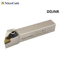 Nicecutt DDJNR2020K1504 portaherramientas de torneado exterior para plaquita DNMG portaherramientas de torno envío gratuito