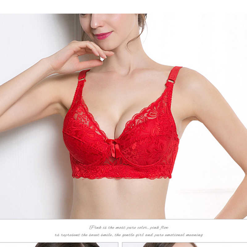 ATHVOTAR Tradeลูกไม้เซ็กซี่Push Up Bra Braletteชุดชั้นในชุดชั้นในCrop TOPหญิงBrassiere 2020 ใหม่