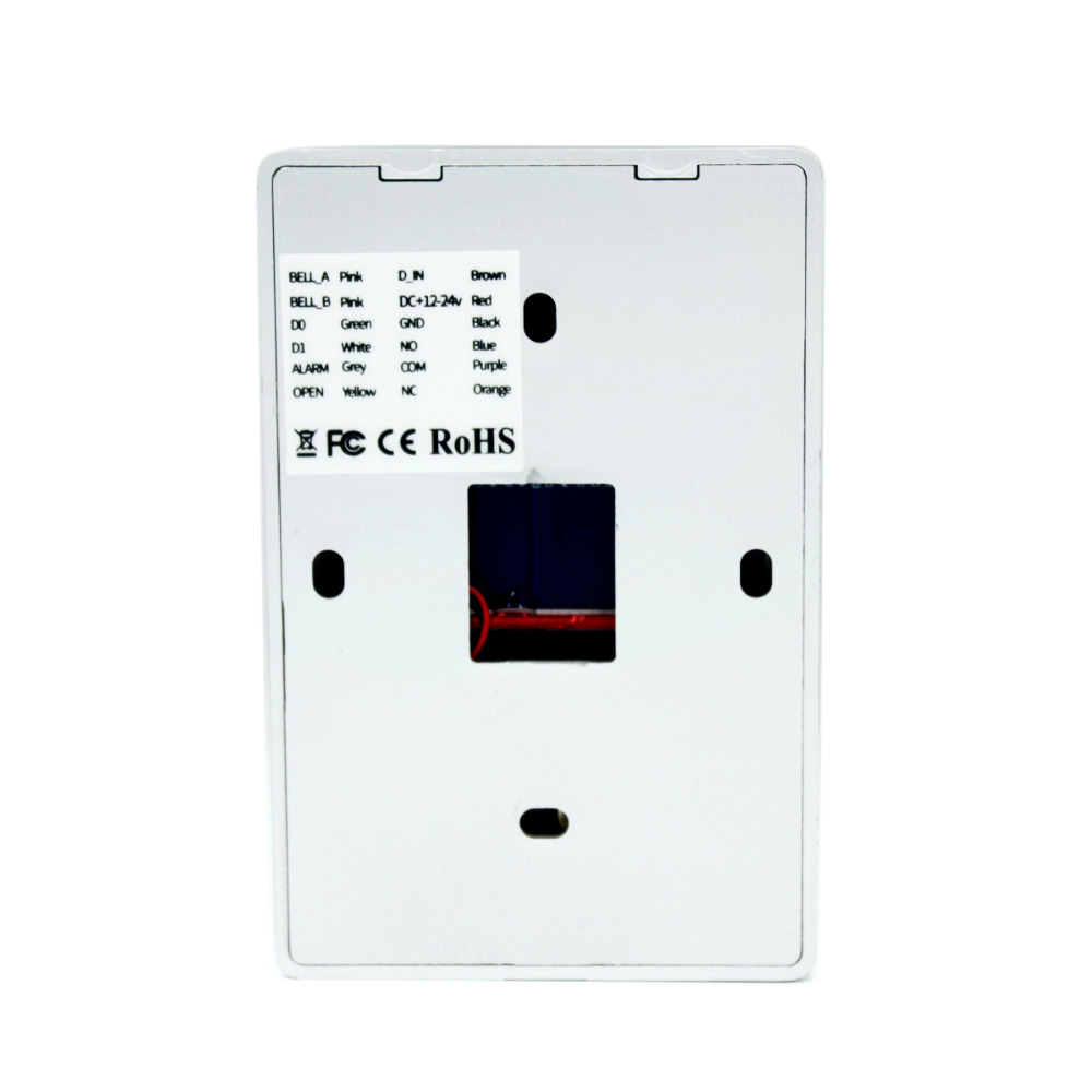 H6e7d15a10e9d414faae11724f93b5196l Backlight Touch 125khz RFID Card Access Control keypad EM card reader Door Lock opener wiegand 26 output Anti-disassembly Alarm
