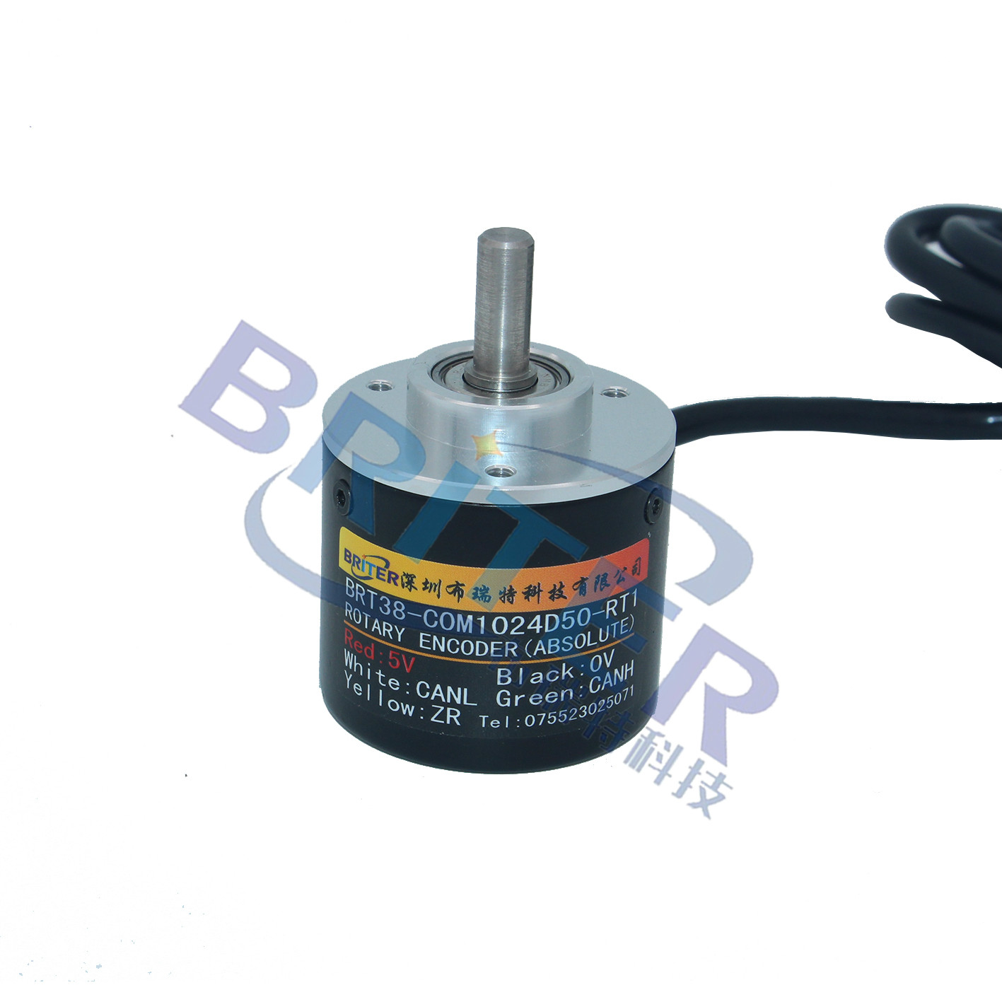 CAN 99-turn 1024 Differential Angle Rotation Absolute Multi-turn Encoder Power-off Memory