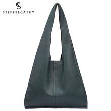 SC العلامة التجارية مصمم كبير حقيقي حقيبة الجراب الجلدية حقيبة المرأة خمر حقيبة تسوق جلدية عادية الترفيه حقيبة كتف حقيبة يد كبيرة المتشرد