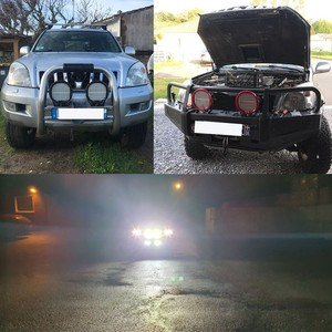"Image 2 - VISORAK 9"" 378W Super Bright ATV LED Work Light Bar 4x4 4WD SUV Offroad LED Light Boat LED For 4WD 4x4 Car SUV ATV Offroad Truck"