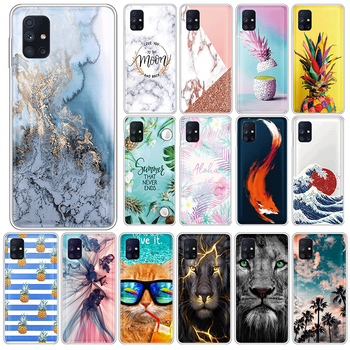 For Samsung Galaxy M51 4G Soft TPU Case For SamsungM51 GalaxyM51 M 51 Phone Cases 6.7 Silicone Back Cover Coque Fundas Shell image