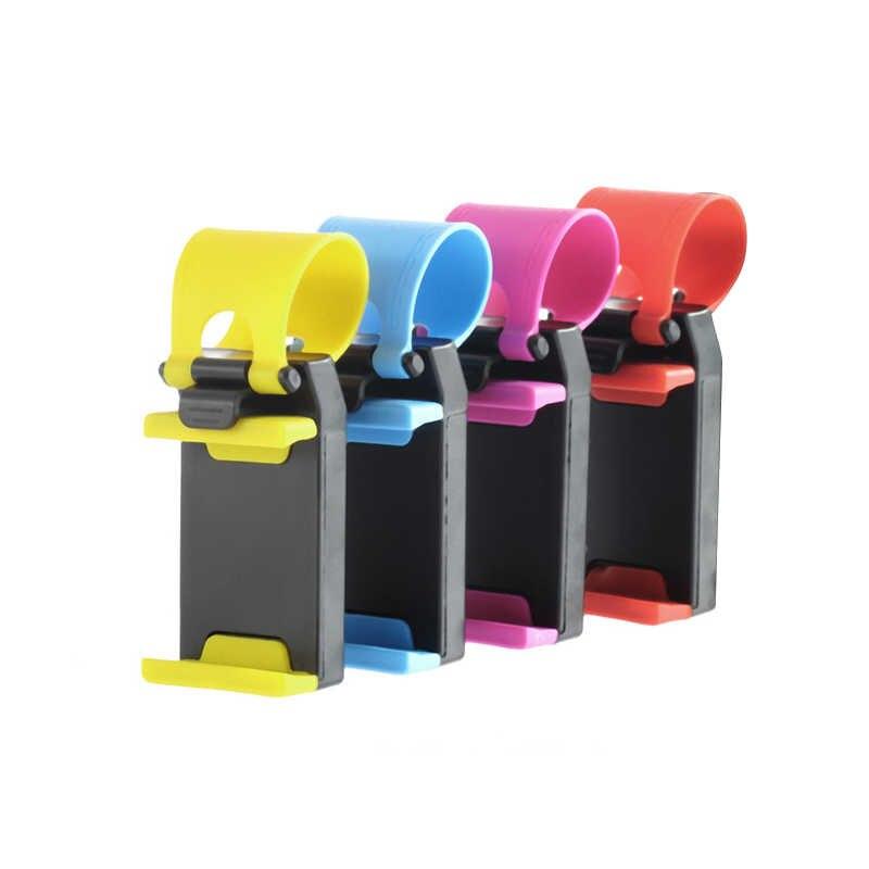 ユニバーサル自動車電話ホルダー車のステアリング携帯電話のgpsブラケットxiaomi電話スタンドブラケット携帯電話アクセサリーTXTB1