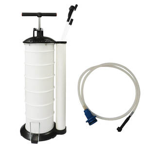 Pumping-Machine Oil-Change-Pump Oil-Collector Car Bucket Manual-Oil Car-Repair Wast 7L