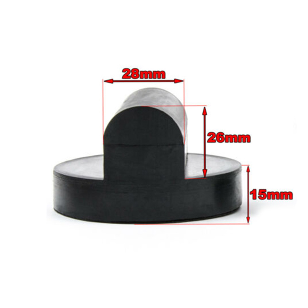 Floor Slotted Car Rubber Jack Pad Frame-Protector Adapter Jacking-Disk Pad Tool