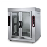 BS-306-2 Vertical Gas Rotary Double-head Roast Whole Lamb Oven Barbecue Tool Oven Electric Oven