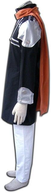 D. Gris homme Lavi Rabi Cosplay vêtements pour hommes Costume Halloween