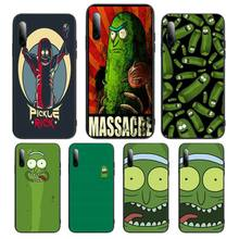 i am pickle rick Phone Case For Samsung S Note20 10 2020 S5 21 30 ultra plus A81 Cover Fundas Coque